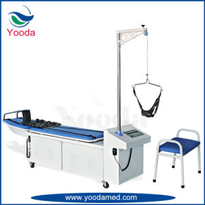 Medical Equipment Manual Cervical and Lumbar Traction Bed pictures & photos