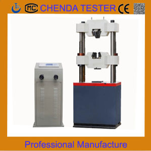 We-1000b Digital Display Hydraulic Universal Testing Machine Tensile Tester Machine Manufacturer pictures & photos