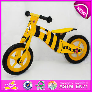 2014 New Wooden Bicycle Toy for Kids, Lovely Design Wooden Bike Toy for Children, Cheap Wooden Toy Bicycle for Baby Factory W16c075 pictures & photos