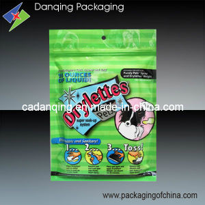 Plastic Stand up Ziplock Bag for Pets, Plastic Packaging Bag (DQ0073) pictures & photos