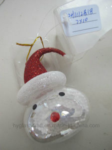Handmade Chritsmas Glass Snowman Crafts pictures & photos