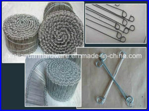 Black Annealed /Galvanized Double Loop Tie Wire pictures & photos