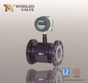 PTFE Lining Flanged Ball Valve pictures & photos