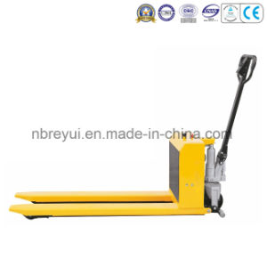 Electric High Lift Pallet Truck pictures & photos