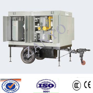 Zym Mobile Type Vacuum Turbine Oil Filter Machinery pictures & photos