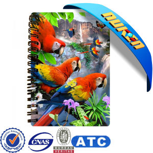 2015 New Design 3D Notebook Cover pictures & photos