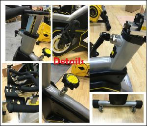 Professional Commercial Exercise Fitness Bike Spinning Bike Fb-5817 pictures & photos