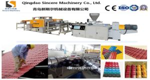 Factory Hot Sale PVC Plastic Building Tile Sheet Extrusion Line Glazed Roof Tile Corrugated Sheet Extruding Machine pictures & photos