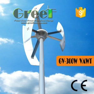 300W Domestic, Low Speed, Low Rpm Vertical Axis Windmill Generator pictures & photos
