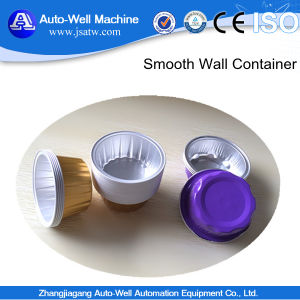 China Manufacturer Food Packaging White Coated Airline Aluminum Foil Containers pictures & photos