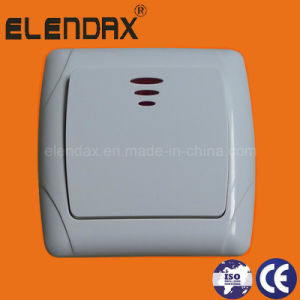 EU Style Flush Mounting Power Light Switch (F3101) pictures & photos