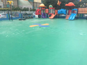 Outdoor PVC Vinyl Flooring for Badminton/Basketball/Handball/Tennis Sports Court Club Games pictures & photos