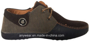 Casual Footwear Men Leather Comfort Shoes (815-4909) pictures & photos