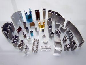 Aluminium Extrusion Customized Design Section Full Finished