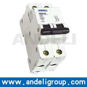 16A 2 Pole MCB Miniature Circuit Breaker (DZ65-63) pictures & photos