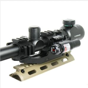6-24X50 Tactical Rifle Scope R/G Mil-DOT with Laser Sight pictures & photos