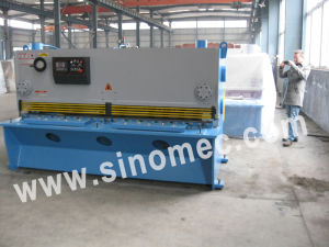 Metal Guillotine Machine/Cutting Machine/Hydraulic Shearing Machine QC11y-12X3200 pictures & photos