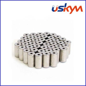 Cylinder NdFeB Magnet with Hole (S-004) pictures & photos