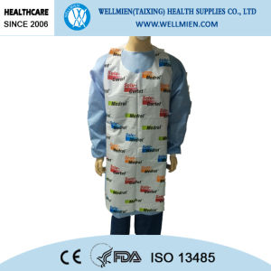 Disposable LDPE/HDPE Printed Aprons pictures & photos