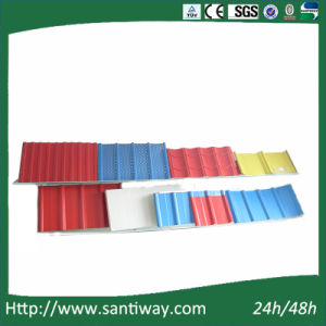 Color-Coated Steel Sheet Steel Tile Made in China pictures & photos