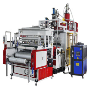 Double Layers Stretch Film Making Machine