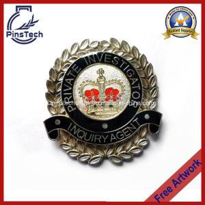 Custom Die Cast Police Investigator Badge, Free Artwork pictures & photos