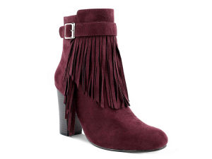 Winter Fashion Style Side Zipper Ladies High Heel Shoes (HT1009-2) pictures & photos