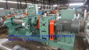 Xk450 Rubber Two Roll Mill for Rubber Mixing pictures & photos