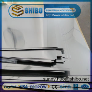Pure Moly Sheet, Molybdenum Plate for High Temperature Furnace Construction pictures & photos