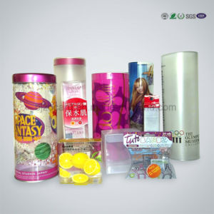 Custom Cylinder Clear/Transparent Plastic Display Cake Packaging Boxes pictures & photos