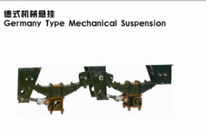 Germany Type Mechanical Suspension for Trailers pictures & photos