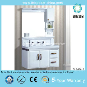 Wash Basin Wall Hang PVC Bathroom Cabinet (BLS-16010) pictures & photos