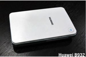B932 Huawei 3G WiFi Router WCDMA 3G SIM with Rj11