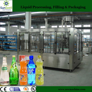 3000bph Automatic 3 in 1 Soft Drink Filling Plant pictures & photos