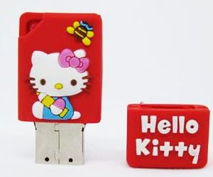 Hello Kitty PVC USB Flash Pendrive Style No. UF-323 pictures & photos