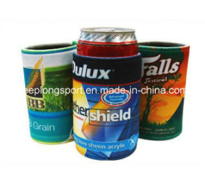 Customized Full Colors Printing Neoprene Can Cooler, Stubby Cooler, Stubby Can Holder pictures & photos