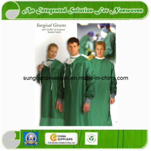 100% PP Disposable Surgical Gown pictures & photos