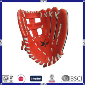 Made in China Cheap Price Leather OEM Customized PVC Baseball Glove pictures & photos