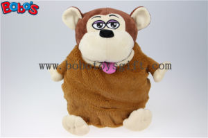 ICTI and Sedex Audi Monkey Animal Bag Plush Travel Backpack pictures & photos