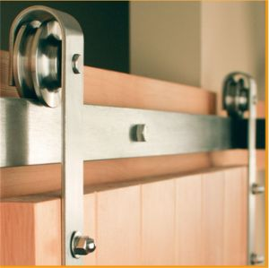 Wooden Barn Sliding Door Hardware Ls-2005 pictures & photos
