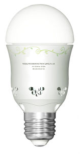 Professional Quality LED Ball Bulb with Patent
