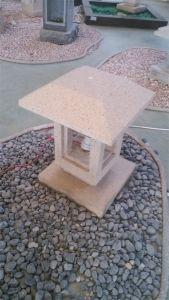 Stone Finish Solar Bollard Light pictures & photos
