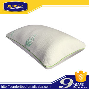 Aloe Vera Fabric Shredded Memory Foam Pillow pictures & photos