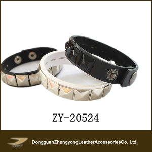Fashion Stud Leather Bracelet