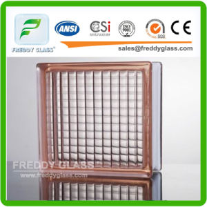 190X190X80mm Sea Wave Clear Glass Block/Landscaping Decorative Crystal Glass Block/Acoustic Sound Proof Foam Glass Block for Insulation Material pictures & photos