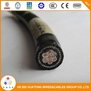 0.6/1kv 4 Core PVC or XLPE Insulated Armored Copper Electric Power Cable pictures & photos