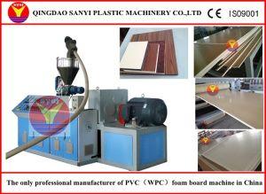 WPC Construction Formwork Plastic Machine pictures & photos