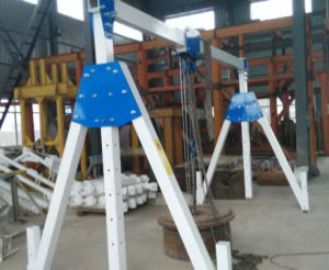Low Weight Aluminum Folded Portal Crane Adjustable Legs and Beam 1t 2t pictures & photos