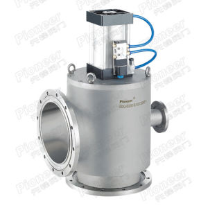 Dn500 Pneumatic High Vacuum Angle Valve pictures & photos