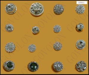 Newest Crystal Rhinestone Button for Jeans pictures & photos